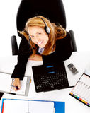 Busy business woman Royalty Free Stock Photography