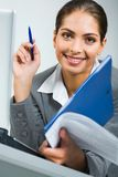 Busy business women Royalty Free Stock Photo