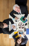 Busy businesspeople Royalty Free Stock Photo