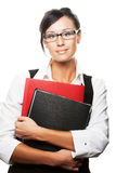 Busy businesswoman Royalty Free Stock Images
