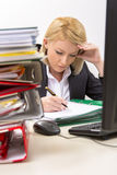 Busy Businesswoman Stock Image