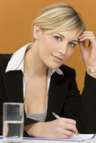 Busy Businesswoman Stock Images