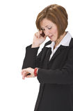 Busy call Stock Photo