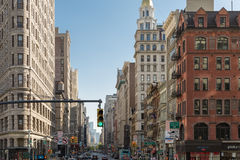 The busy city of NYC, New York, USA Royalty Free Stock Image