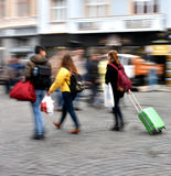 Busy city people Stock Image