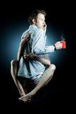Busy coffee break Stock Image