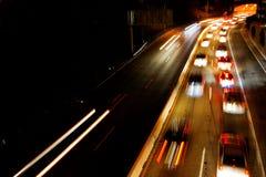Busy Commuter Freeway Stock Photo