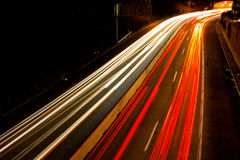 Busy Commuter Freeway Royalty Free Stock Photography