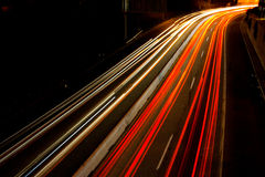 Busy Commuter Freeway Royalty Free Stock Images