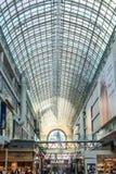 Busy corridor in Eaton Center Stock Photos