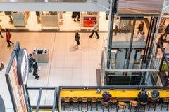 Busy corridor in Eaton Center Royalty Free Stock Photos
