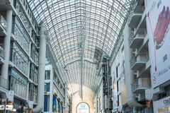 Busy corridor in Eaton Center Stock Photo