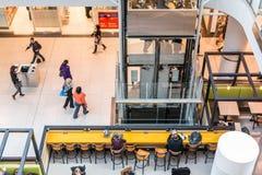 Busy corridor in Eaton Center Stock Photo