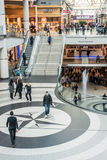 Busy corridor in Eaton Center Royalty Free Stock Photo