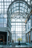 Busy corridor in Eaton Center Royalty Free Stock Image