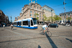 Busy Dam Square Stock Photography