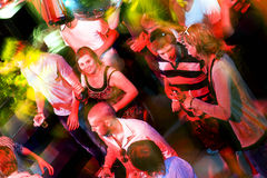 Busy dance floor Royalty Free Stock Images