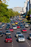 Busy Daytime Traffic Buenos Aires Royalty Free Stock Photo