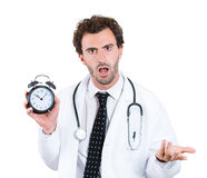 Busy doctor Stock Photos