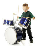 Busy Drumming Stock Image