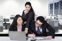 Busy employees in the office Stock Photography