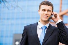 Busy entrepreneur Stock Photography