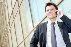 Busy entrepreneur Stock Image