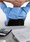 Busy executive Stock Photography