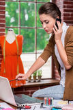 Busy fashion designer. Stock Images