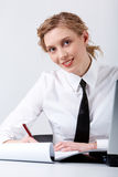 Busy female Stock Photo