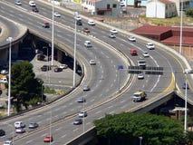 busy highway Στοκ φωτογραφίες με δικαίωμα ελεύθερης χρήσης