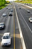Busy highway Royalty Free Stock Image
