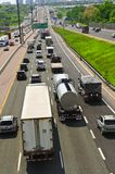 Busy highway Royalty Free Stock Photography