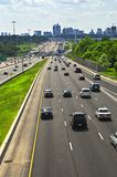 Busy highway Royalty Free Stock Photos