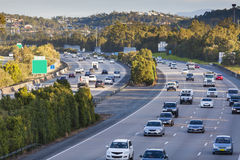 Busy highway Stock Image
