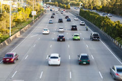Busy highway Stock Photography
