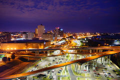Busy highway in Memphis Royalty Free Stock Photos