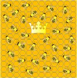 Busy hive. Royalty Free Stock Photo