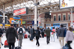 Victoria station, London Stock Photography