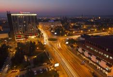 Panoramic view of Sibiu Royalty Free Stock Photos