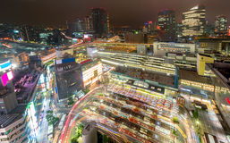 Busy Junction at yokohama station Royalty Free Stock Photo
