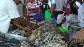 Busy local market in the Philippines Royalty Free Stock Images