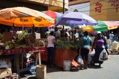 Busy local south market Stock Photos