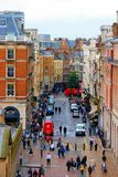 Busy London Street Stock Photography