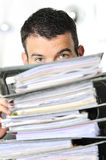 Busy man Stock Images