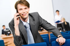Busy manager Stock Photography