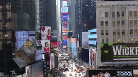 Busy Manhattan New York stock video footage