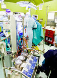 Busy modern surgery Royalty Free Stock Photography