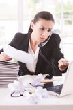 Busy office life. Stock Image