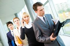 Busy people Royalty Free Stock Photo